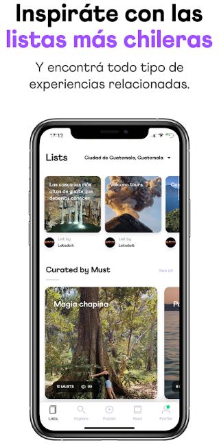 Guatemaltecos crearon App para descubrir lugares por explorar y descubrir