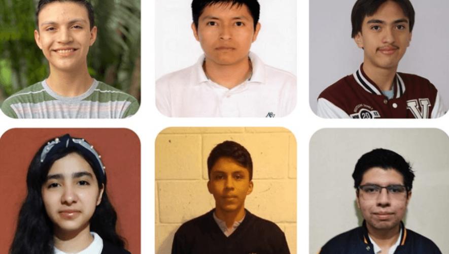 Guatemaltecos ganaron menciones honoríficas en Cyberspace Mathematical Competition 2020
