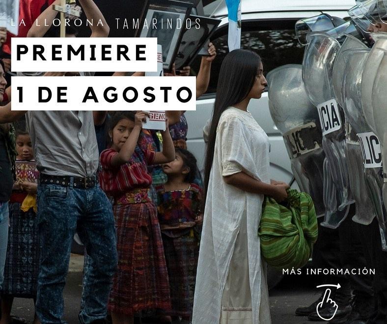 Guatemaltecos podrán ver desde su casa el estreno de La Llorona