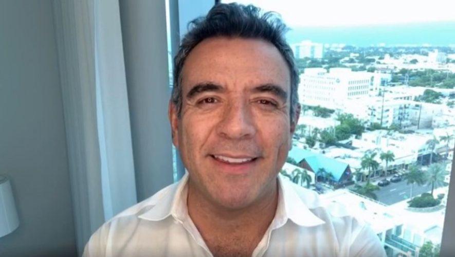 Héctor Sandarti compartió mensaje de apoyo a la iniciativa No te quedes sin comer