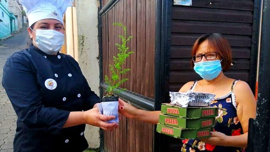 Esquina del Sabor regala un árbol por cada platillo a domicilio que pidas en Chimaltenango