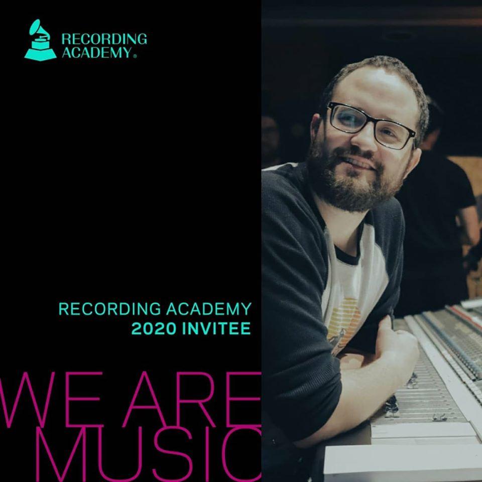 Javier Valdeavellano fue elegido para votar como jurado en los Grammys 2020
