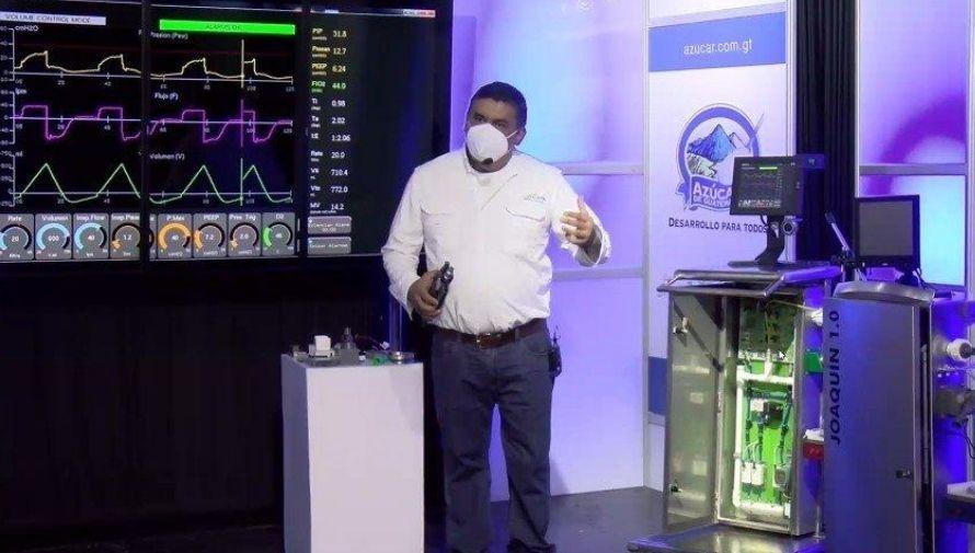 Joaquín 1.0, ventilador mecánico desarrollado por el ingeniero guatemalteco Edwin Delgado