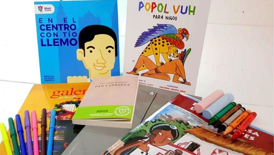 La Caja Cultural,Municipalidad de Guatemala brindará material educativo gratuito para niños (2)
