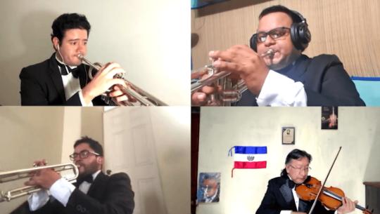 La Niña de Guatemala es interpretada por 67 músicos desde su casa