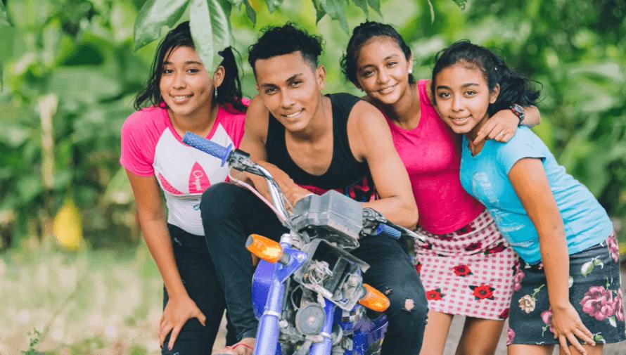 La historia de Chomín La moto