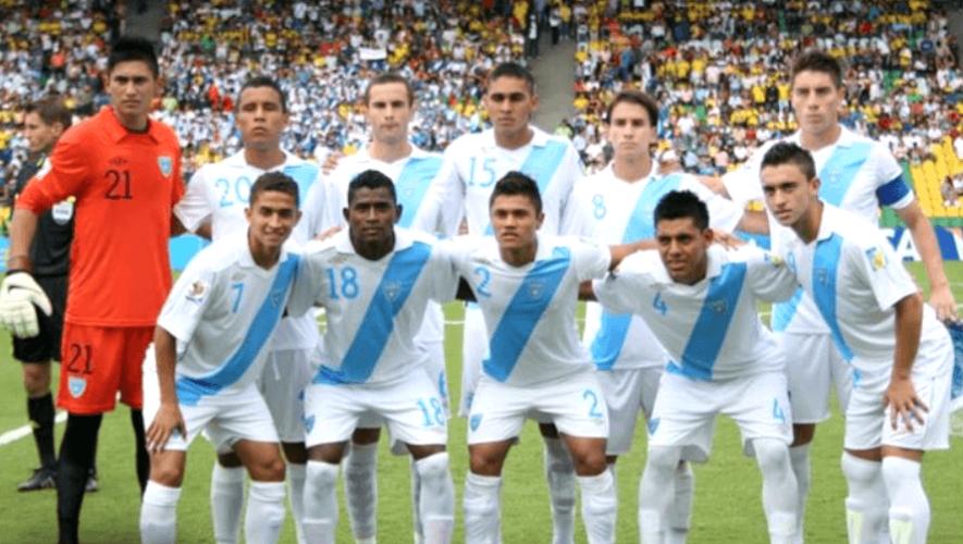 La histórica participación de la selección Sub-20 de Guatemala en el Mundial Colombia 2011