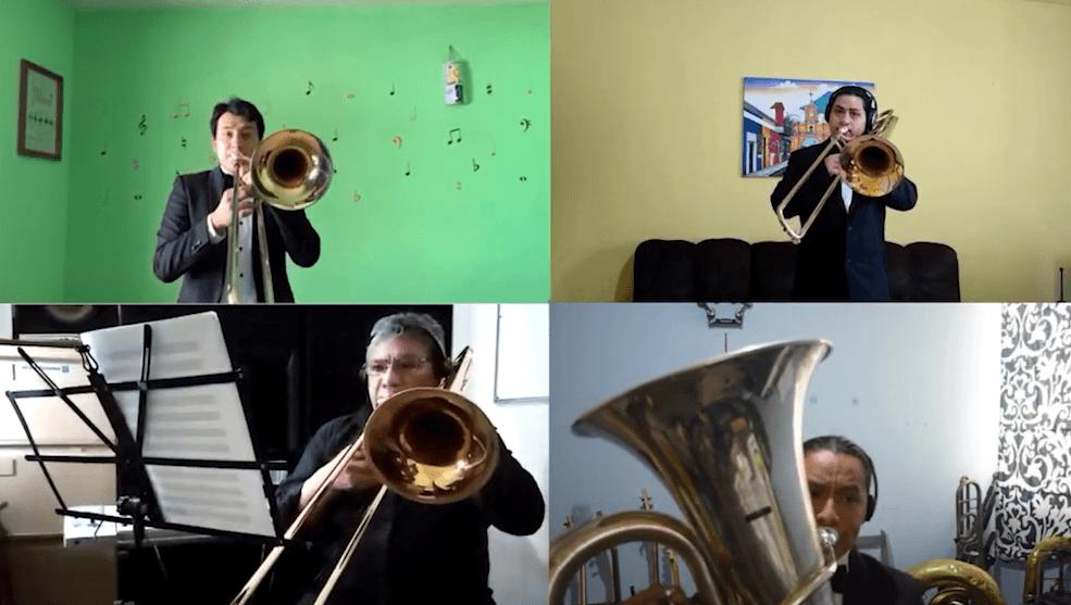 La primera versión orquestal de la canción la Niña de Guatemala
