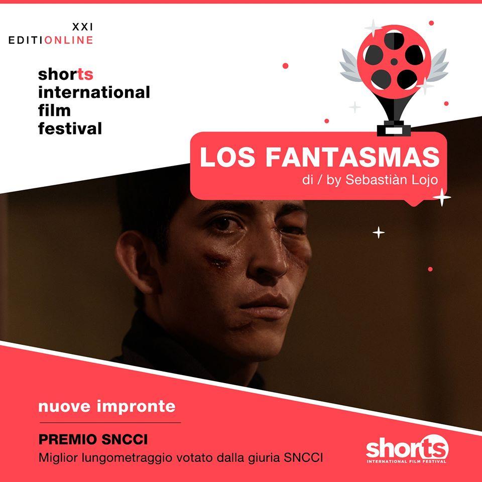 Los Fantasmas ganó como mejor largometraje en Shorts International Film Festival 2020 en Italia