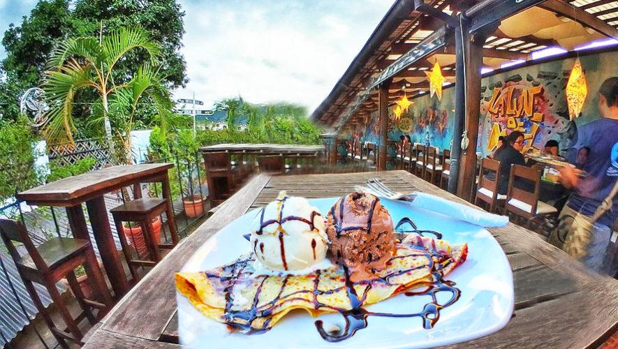 Luna De Miel, el restaurante de crepas artesanales en Antigua Guatemala