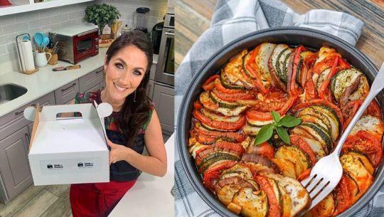 Cocinando con Mirciny Moliviatis, una nueva experiencia para cocinar desde casa