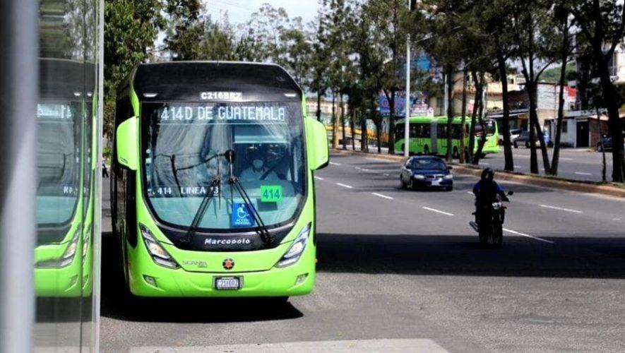Municipalidad de Guatemala anunció la reanudación del servicio de Transmetro, 2020