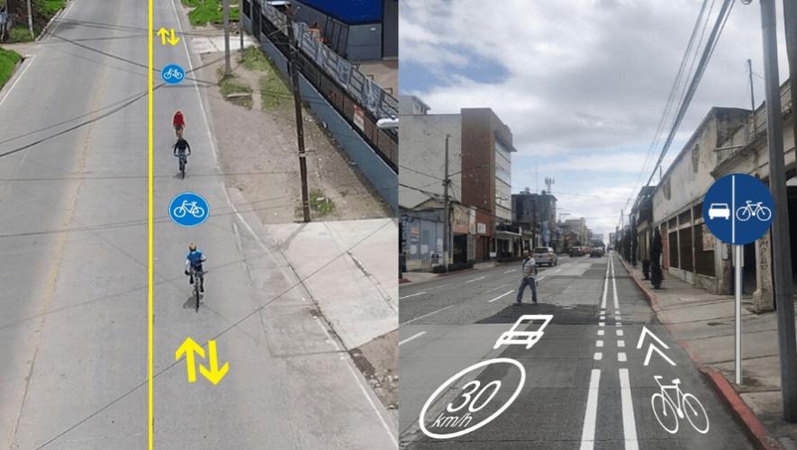 Proponen uso de bicicleta y más ciclovías en la Ciudad de Guatemala y Quetzaltenango