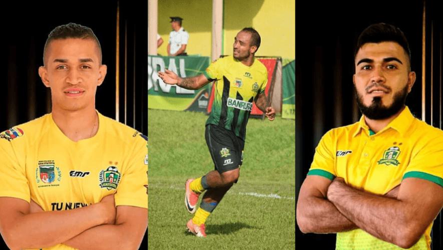 Refuerzos del CD Guastatoya para el Torneo Clausura 2020 de la Liga Nacional
