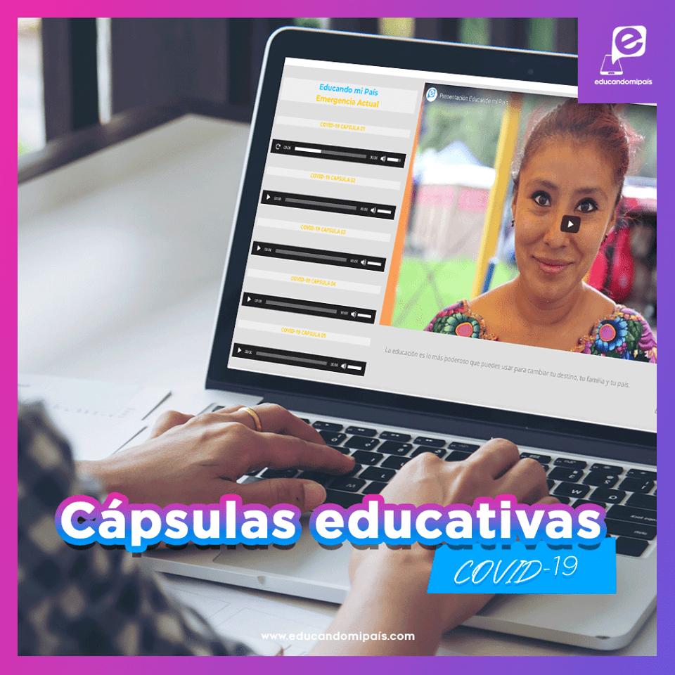plataforma que brinda educación gratuita a los guatemaltecos