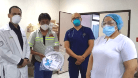 Bantrab donó más de 8 mil pruebas y 300 escafandras para la detección del COVID-19