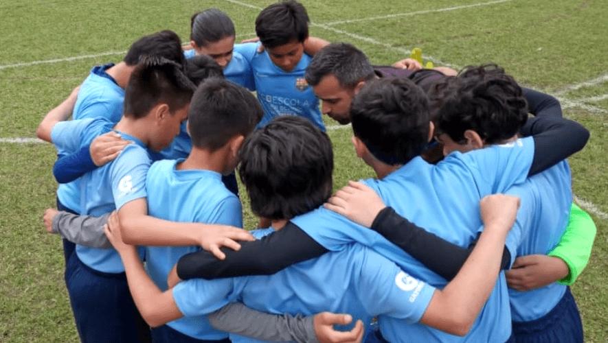 Barça Academy sigue con la formación deportiva e integral de los niños guatemaltecos