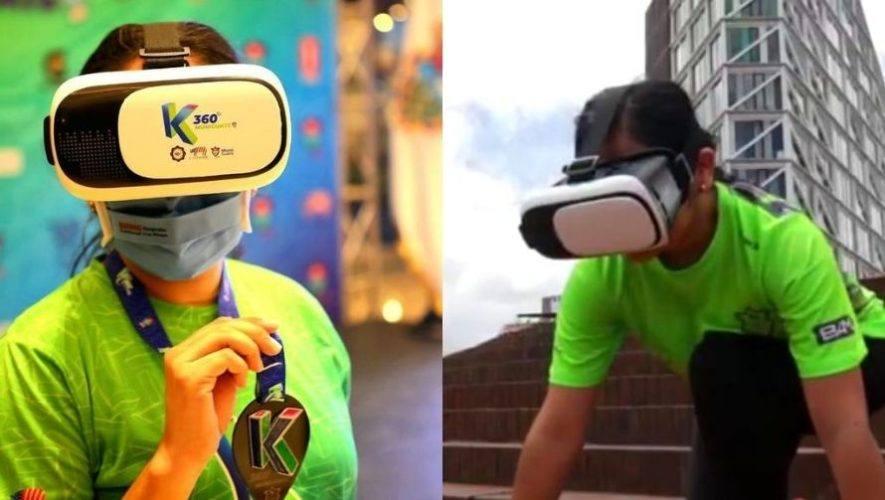 Carrera virtual K360 de la Municipalidad de Guatemala | Agosto 2020