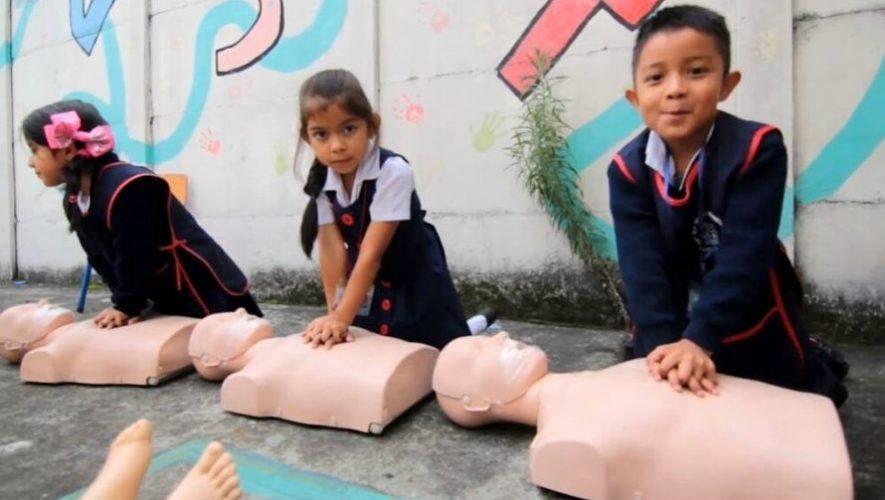 Curso virtual de primeros auxilios para niños   Agosto 2020