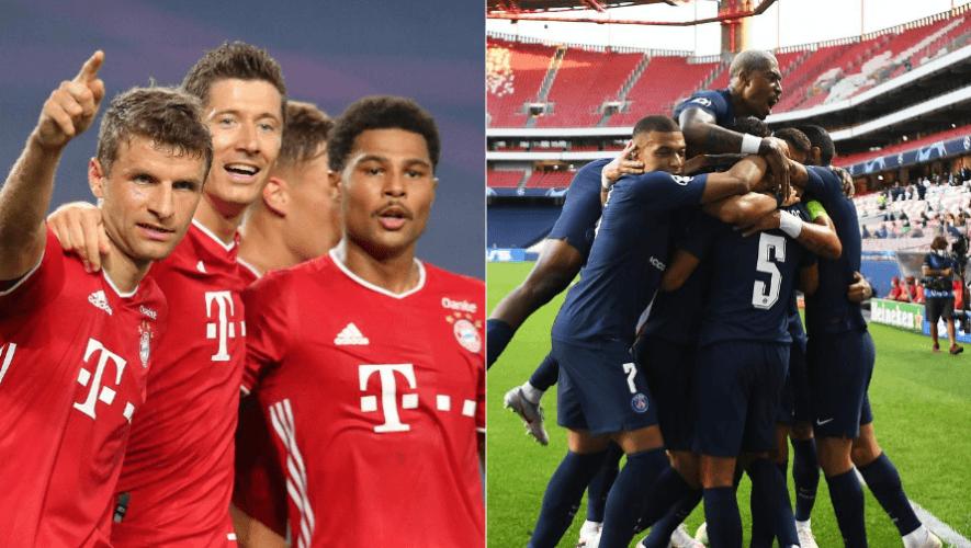 Fecha y hora de la final PSG vs. Bayern Múnich por la UEFA Champions League 2020