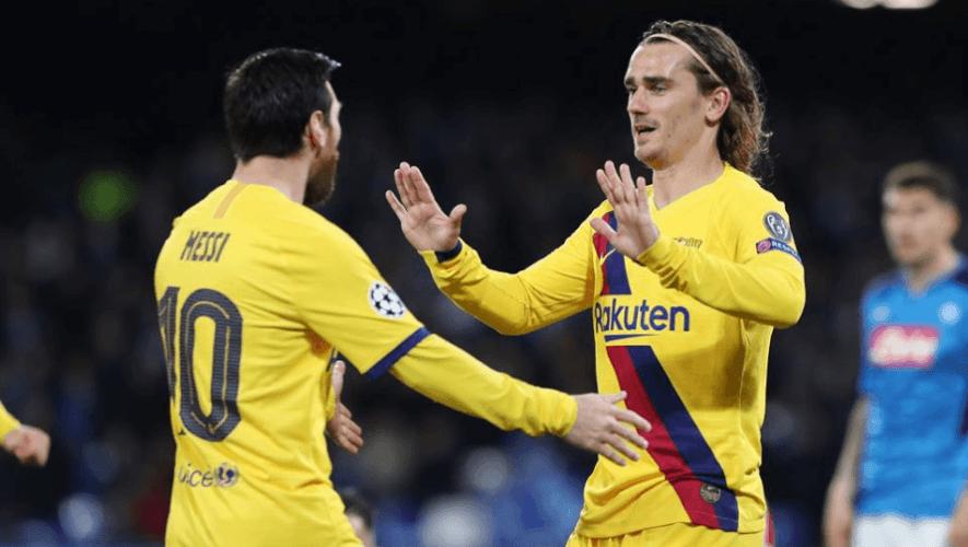 Fecha y hora para ver en Guatemala los octavos de final Barcelona vs. Napoli, Champions 2020