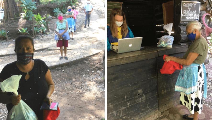 Green Rush y Fundación Mano Amiga donaron bolsas de víveres a familias de escasos recursos