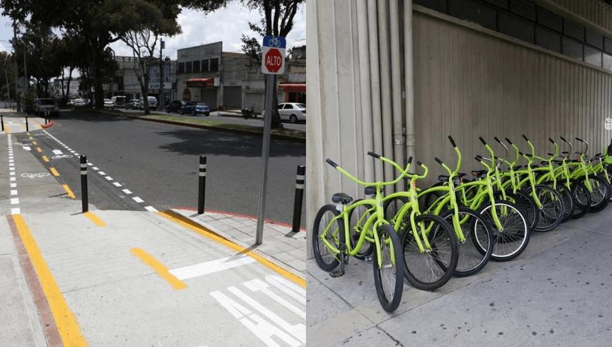 Habilitan servicio de bicicletas gratis en Zona 1 y ciclovía en Zona 11 de Ciudad de Guatemala