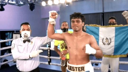 Lester Martínez noqueó a Abraham Hernández en su quinta pelea profesional
