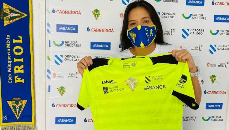 María Amanda Monterroso se convirtió en nueva jugadora del PM Friol de España