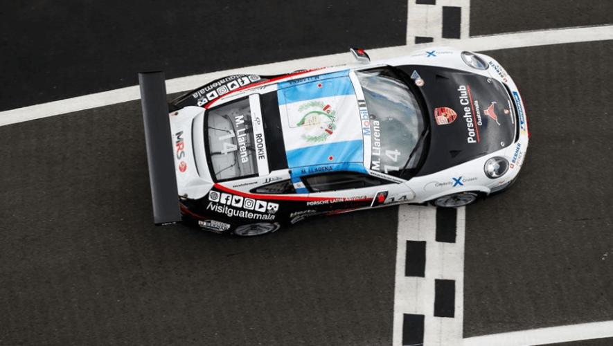 Mateo Llarena entró al top 10 de novatos en la fecha 4 de la Porsche Mobil 1 Supercup 2020
