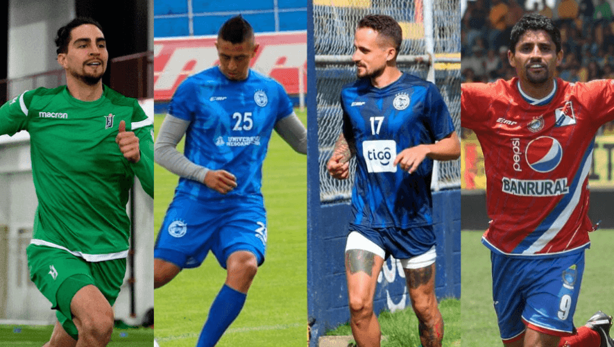 Plantilla de jugadores de Xelajú MC para el Torneo Apertura 2020 de la Liga Nacional