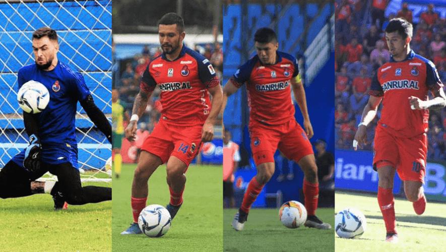 Plantilla de jugadores del CSD Municipal para el Torneo Apertura 2020 de la Liga Nacional