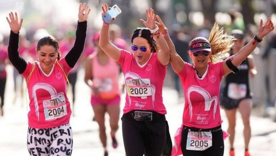 Primera edición de la Carrera de la Mujer en Guatemala | Octubre 2020