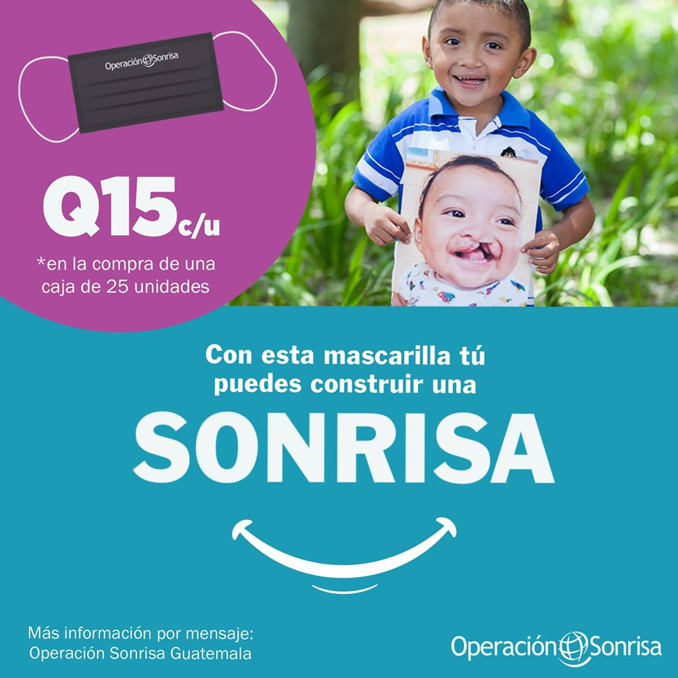 Quieres unirte a la iniciativa de Operación Sonrisa