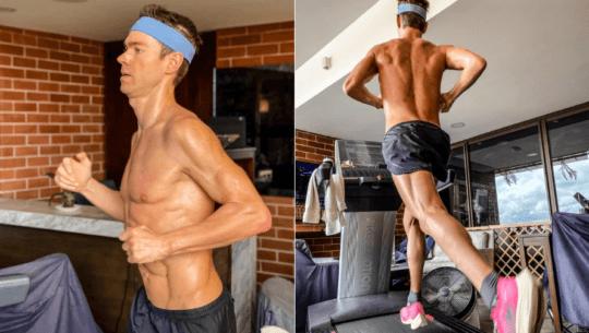 Raúl Tejada impuso nuevo récord mundial de 50 km de Treadmill (Cinta de Correr)