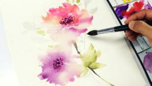 Taller virtual gratuito de pintura en acuarela | Agosto 2020