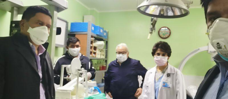 Voluntarios de la USAC construirán 200 sistemas de cánulas para cinco hospitales en Guatemala 2020