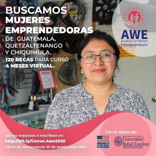 academia-mujeres-emprendedoras-ofrece-120-becas-mujeres-guatemaltecas-convocatoria