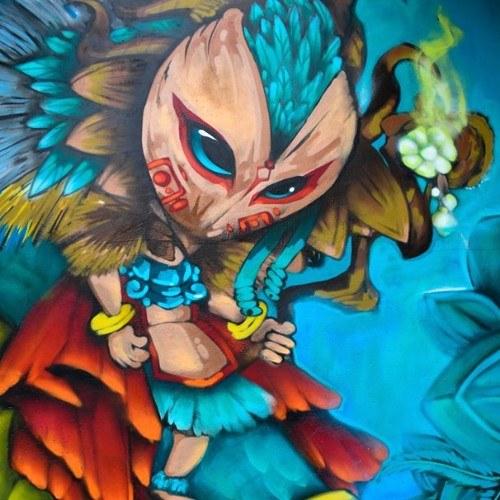 covid-19-voluntarios-guatemaltecos-pintaron-mural-zona-7-ciudad-guatemala-floresta-resiliencia