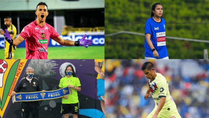 Futbolistas guatemaltecos que juegan en el extranjero 2020