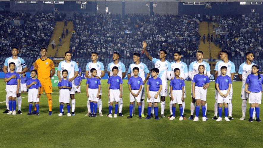amistoso, Alineación de Guatemala para el partido amistoso vs. México, septiembre 2020Guatemala, México, transmisión en vivo, canales