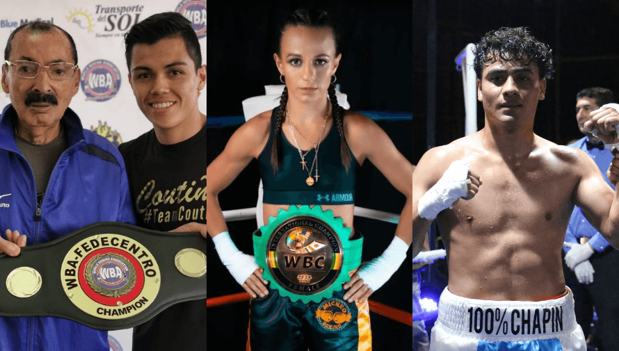 Boxeadores guatemaltecos que han destacado en la historia del deporte nacional