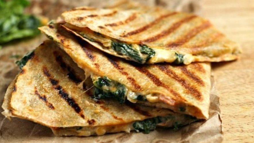 Clase gratuita para hacer una quesadilla con camote y espinaca   Septiembre 2020