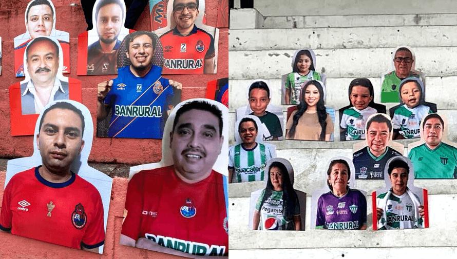 Equipos de Liga Nacional que ofrecen siluetas de aficionados para el Torneo Apertura 2020
