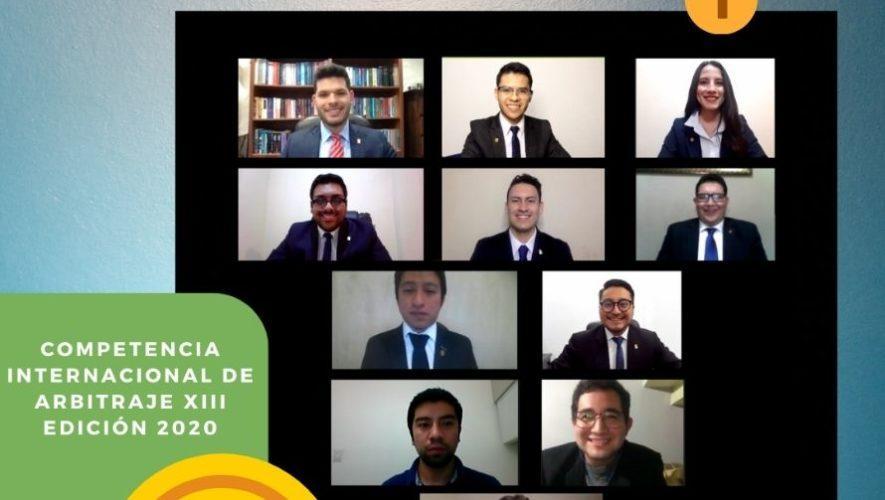 Estudiantes de Quetzaltenango ganaron Competencia Internacional de Arbitraje
