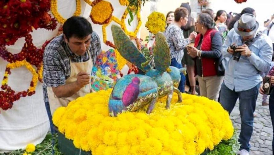 Exposición de arte, Festival de las Flores de Antigua Guatemala Noviembre 2020