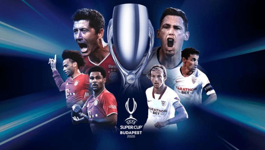 Fecha y hora en Guatemala del partido Bayern Múnich vs. Sevilla, Supercopa de Europa 2020