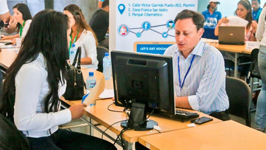 Feria virtual de empleo de la Cámara de Industria de Guatemala   Septiembre 2020