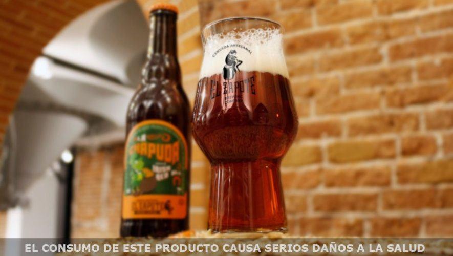 «La Chapuda», cerveza artesanal guatemalteca de El Zapote por tiempo limitado