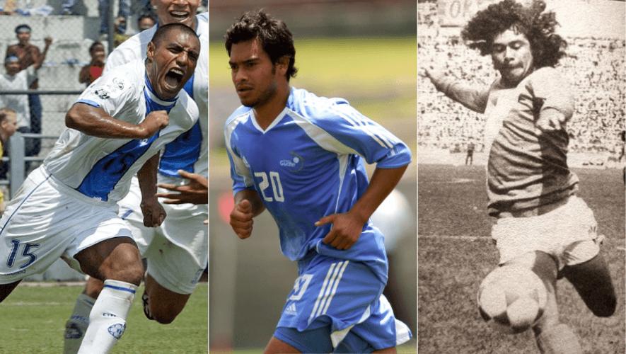 Los máximos goleadores de la Selección Nacional Mayor de Fútbol de Guatemala